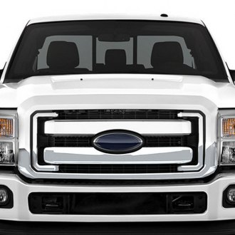RI® - 5-Pc OE Style Chrome Grille Overlay