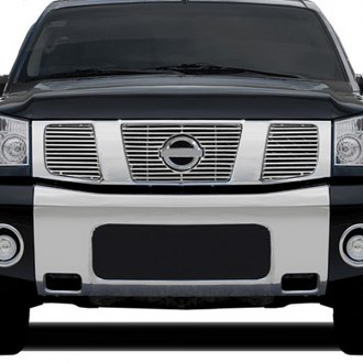 RI® - 3-Pc Chrome Grille Overlay