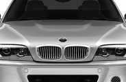 RI® - Chrome with Silver Grille Replacement - E46 2DR