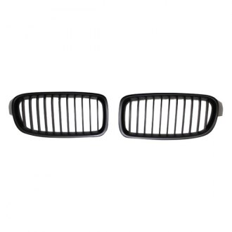 RI® - Factory Style Black Main Grille