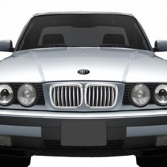 RI® - Chrome Billet Grille with Chrome-Silver Fence