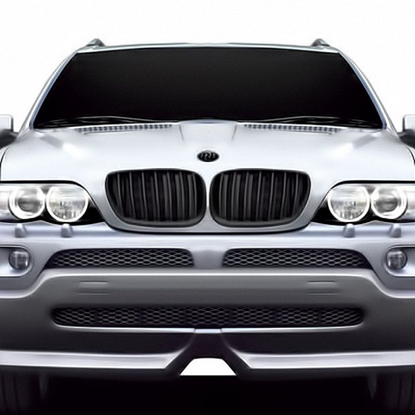 RI® - Black Vertical Billet Grille