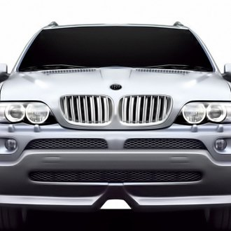 RI® - Chrome Billet Grille with Chrome Frame and Chrome-Silver Fence