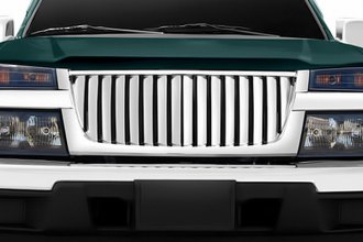 RI® 72R-CHCOL04-PVB - Thick Bar Style Chrome Vertical Billet Grille