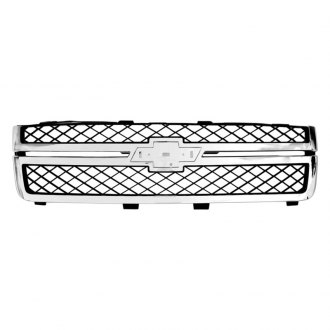 RI® - OE Style Chrome Main Grille with Emblem Recess