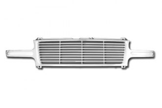 RI® - Straight Billet Style Chrome Grille Replacement