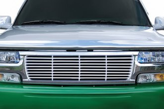 RI® - Straight Billet Style Chrome Replacement Grille