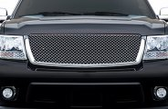 RI® - 1-Pc Chrome Mesh Grille Replacement