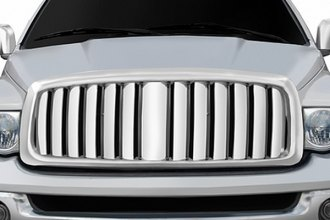 RI® - Thick Vertical Bar Style Chrome Replacement Grille