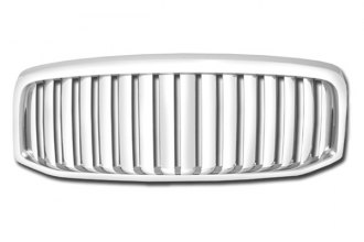 RI® - Thick Vertical Bar Style Chrome Grille Replacement