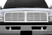 RI® - Chrome Billet Grille Replacement with Center Bar