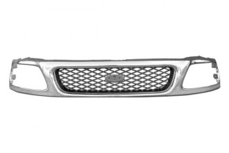 RI® - Diamond Style Chrome Frame and Gray Diamond Replacement Grille