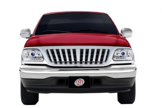 RI® 72R-FOF1599-PRA - Bar Style Chrome Vertical Billet Grille