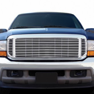 RI® - Chrome Horizontal Bar Style Billet Grille