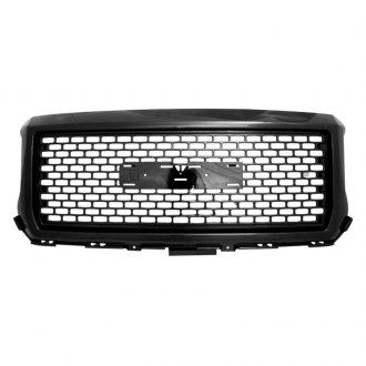RI® - Denali Style Gloss-Black Grille with Emblem Recess