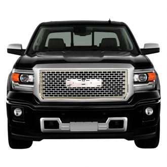 RI® - Denali Style Chrome Grille with Emblem Recess