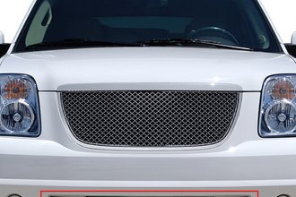 RI® 72R-GMYUK07B-GME - Bentley Style Chrome Mesh Bumper Grille Replacement