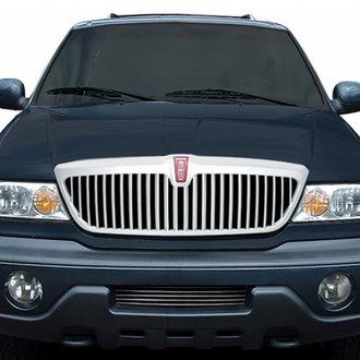 RI® - Factory Style Chrome Vertical Billet Grille