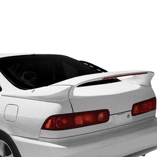 RI Acura Integra Coupe Doors MidWing Style Fiberglass - Acura integra spoiler