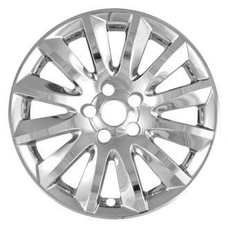 "RI® - 17"" 12-Spoke Chrome Wheel Skins"