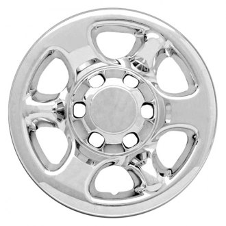 "RI® - 16"" 6 Spokes Chrome Wheel Skins"