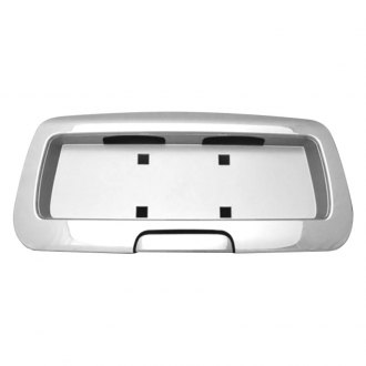 RI® - Chrome Rear License Plate Surrounding Molding
