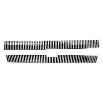 RI® - 2-Pc Polished 8mm Vertical Billet Grille