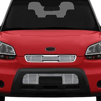 RI® - 3-Pc Chrome Billet Main and Bumper Grille Kit