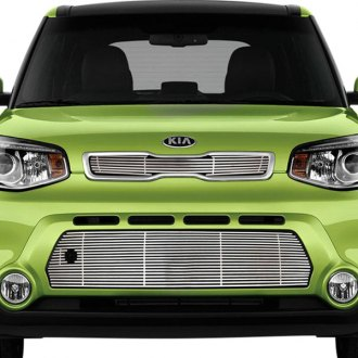 RI® - 2-Pc Chrome Billet Main and Bumper Grille Kit