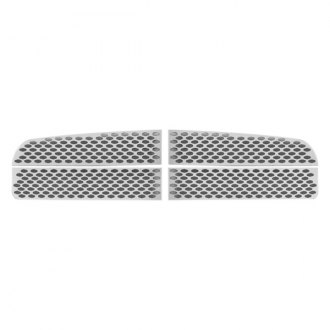 RI® - 4-Pc Chrome Oval Punch CNC Machined Grille