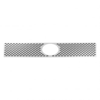 RI® - 1-Pc Chrome Oval Punch CNC Machined Grille