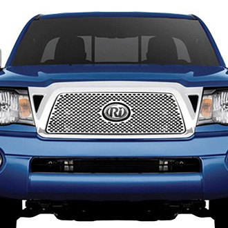 RI® - 1-Pc Chrome Oval Punch CNC Machined Main Grille