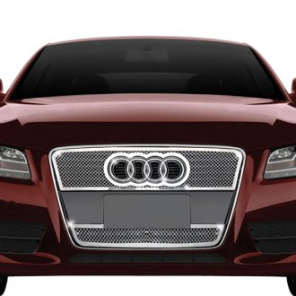 RI® - 2-Pc Chrome Weave Mesh Main and Bumper Grille Kit