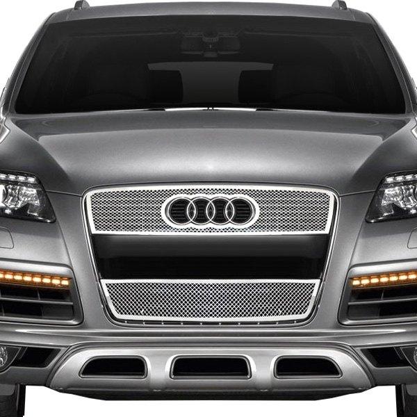 Audi Q7 2007-2011 2-Pc Chrome Weave Mesh Grille