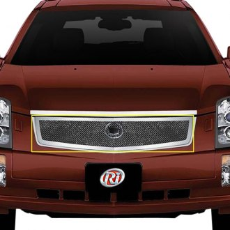 RI® - 1-Pc Chrome Weave Mesh Grille