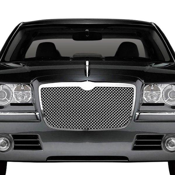Chrysler 300 Custom >> RI® - Chrysler 300 / 300C 2007 1-Pc Perimeter Chrome Weave Mesh Grille
