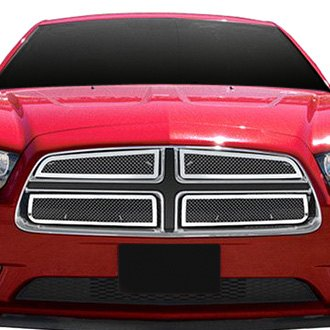 RI® - 4-Pc Perimeter Chrome Weave Mesh Grille