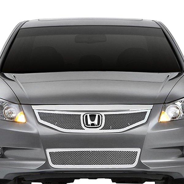 Honda Dealers In Ri: Honda Accord 2012 2-Pc Perimeter Chrome Weave Mesh