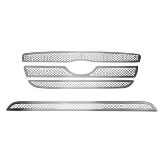 RI® - 2-Pc Perimeter Chrome Weave Mesh Main and Bumper Grille Kit