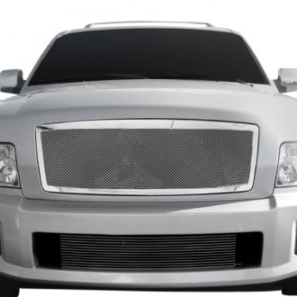 RI® - 1-Pc Chrome Weave Mesh Main Grille