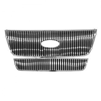 RI® - 2-Pc Chrome Vertical Billet Main and Bumper Grille Kit