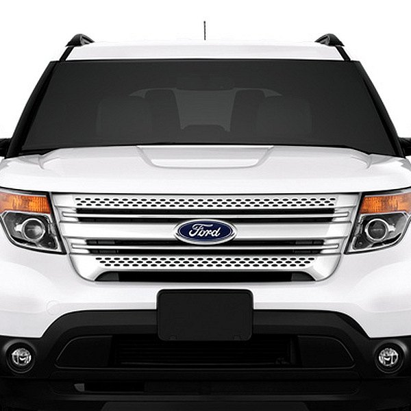 2015 ford explorer chrome grill autos post. Black Bedroom Furniture Sets. Home Design Ideas
