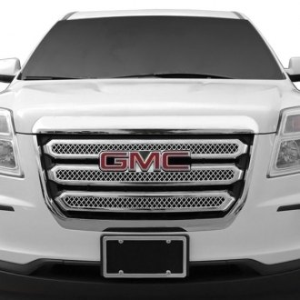 RI® - 3-Pc Chrome Diamond Mesh Main Grille