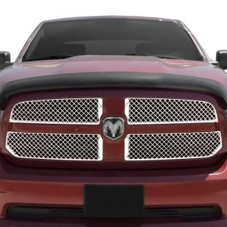 RI® - 4-Pc Chrome Diamond Mesh Main Grille