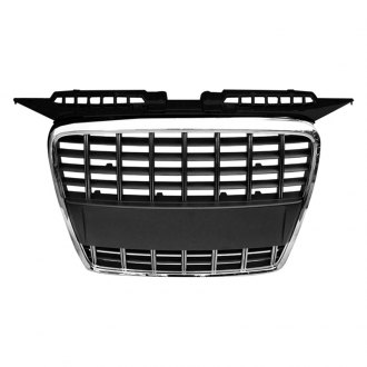 RI® - Black Mesh Grille with Chrome Frame