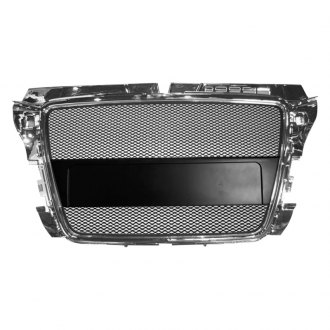 RI® - Black Mesh Main Grille with Chrome Frame