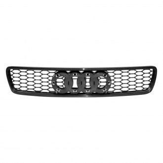 RI® - 1-Pc RS-Type Matte Black Honeycomb Mesh Main Grille
