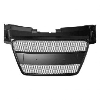 RI® - 1-Pc Black Mesh Main Grille