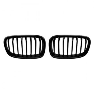 RI® - 2-Pc Black Billet Main Grille