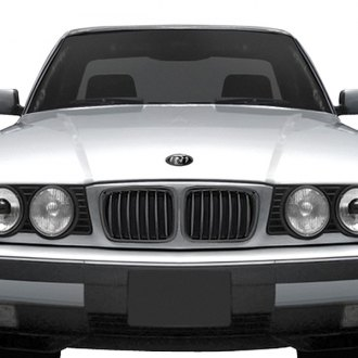 RI® - 1-Pc Black Billet Main Grille